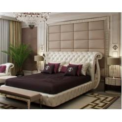 Мягкие стеновые панели для спальни.