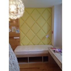 Декоративные мягкие панели для стен и потолков.