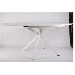 B2400 Большой стол со стеклянной поверхностью в стиле модерн