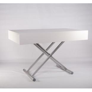 B2391-1 Белый обеденный стол в стиле модерн