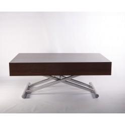 B2391-1 Большой раздвижной стол в цвете венге в стиле модерн