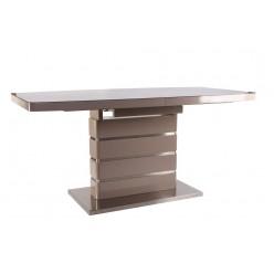 B2406-1 прямоугольный обеденный стол из МДФ и металла в стиле модерн, Китай