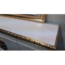 Белый буфет с зеркалом в гостиную Эрмитаж