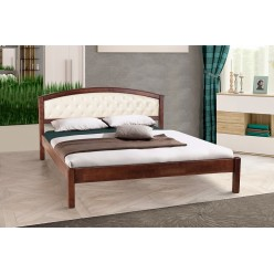 """Двухспальная кровать в стиле модерн """"Джульетта""""."""