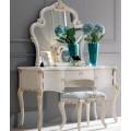 Пуф к туалетному столику в классическом королевском стиле в спальню Classic