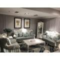 Кресло классическое из комплекта мягкой мебели в стиле прованс коллекция Classic