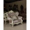 Классическое роскошное кресло Версаль со спинкой Капитоне в итальянском стиле