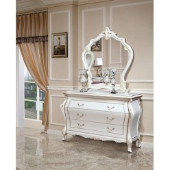 Классические вместительное трюмо с зеркалом в спальню Версаль