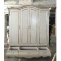 Классический красивый шкаф 4 двери в спальню Грация