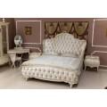 Классический мебельный гарнитур для спальни Грация в бежевом цвете