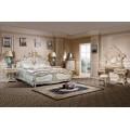 Классическая серия мебели Ренессанс в королевском стиле с цветочным орнаментом и патиной