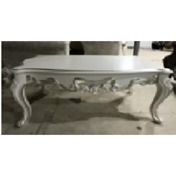 Классический кофейный столик в гарнитур Романтика с золотой патиной