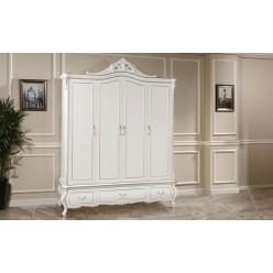 Классический красивый шкаф 4 двери в спальню Версаль
