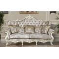Классический диван Версаль с каретной стяжкой в аристократическом стиле