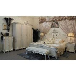 Классическая кровать в спальню в стиле барокко Макао CL-002