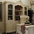 Классический книжный шкаф в престижный кабинет Макао 002
