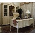 Престижный классический кабинетный стол в аристократическом стиле в кабинет Макао 002