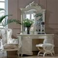 Классический изящный туалетный столик в королевском стиле  в спальный гарнитур Макао 005