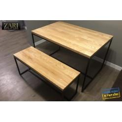 Стол деревянный обеденный BA028.