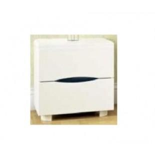 Белая тумбочка прикроватная для мебели Марита, Аурель