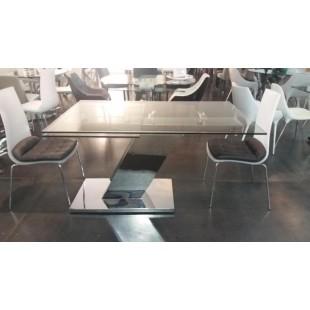 DT8803 Стол обеденный раскладной из стекла, Китай