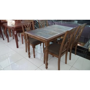 T 14311 OAK Стол обеденный раскладной Лэтитьюд, Китай