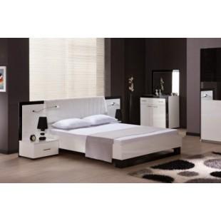 Белая кровать в спальню Гармония, Украина