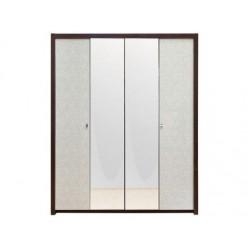 Четырехдверный одежный шкаф для мебельного гарнитура Оливье