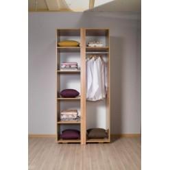 Шкаф для одежды двухдверный Прага