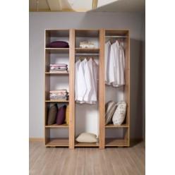 Трехстворочный шкаф в мебельный гарнитур Прага