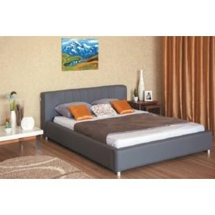 Двухспальная кровать с прямым изголовьем Релакс, Украина