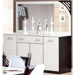 Комод с зеркалом в гостиный гарнитур Мирина