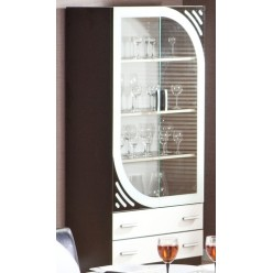 Красивая витрина для стильной гостиной Мирина
