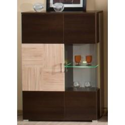 Витрина со шкафом в мебельный гарнитур Дрезден