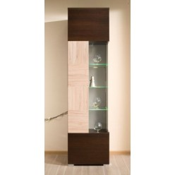 Витрина со стеклом в мебельный гарнитур Дрезден
