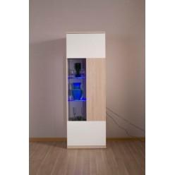 Витрина с подсветкой в мебельный гарнитур Хельсинки