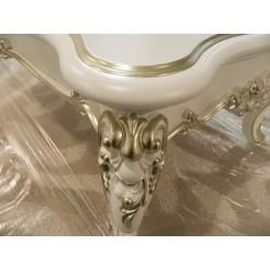 Белый журнальный стол с золотом Шампань, Энигма