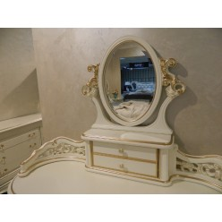 Белый резной туалетный стол Пале Рояль, Энигма