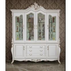 Белая четырехдверная витрина Пале Рояль, Энигма