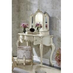 Белый туалетный столик с трюмо Прованс, Энигма