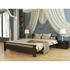 Кровать двухспальная из натуральных материалов Афина, Львов
