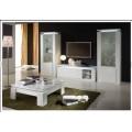 Белая глянцевая мебель для гостиной комнаты Дива (DIVA SPECIAL), Италия