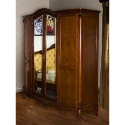 Шкаф четырехдверный в спальню Каталина