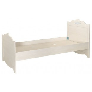 Белая детская кровать 900 в спальню Мисс Флавер, Аквародос