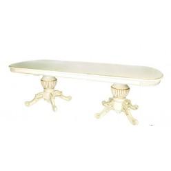 Белый большой раскладывающийся стол 04-01 FL, Китай