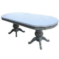Белый классический раскладной стол 05/01 DP Классик, Китай