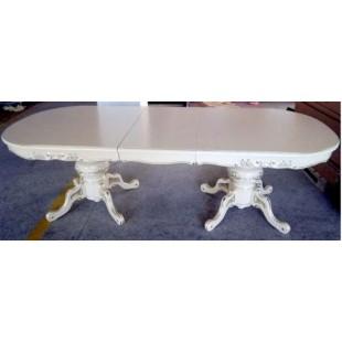 Белый раскладывающийся стол Классик (Classic) 18, Китай, Николас