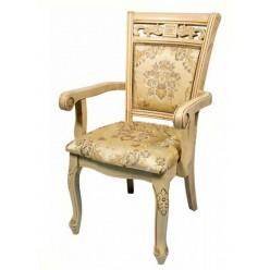 Белый стул с подлокотниками 8037 DP (S) Daming, Николас