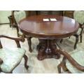 Круглый стол Классик 15( раскладной ) в гостиную, Китай