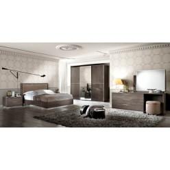 Кровать из массива Платинум в стиле модерн, Италия